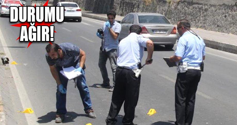 Şanlıurfa'da motosiklet sürücüsüne silahlı saldırı!