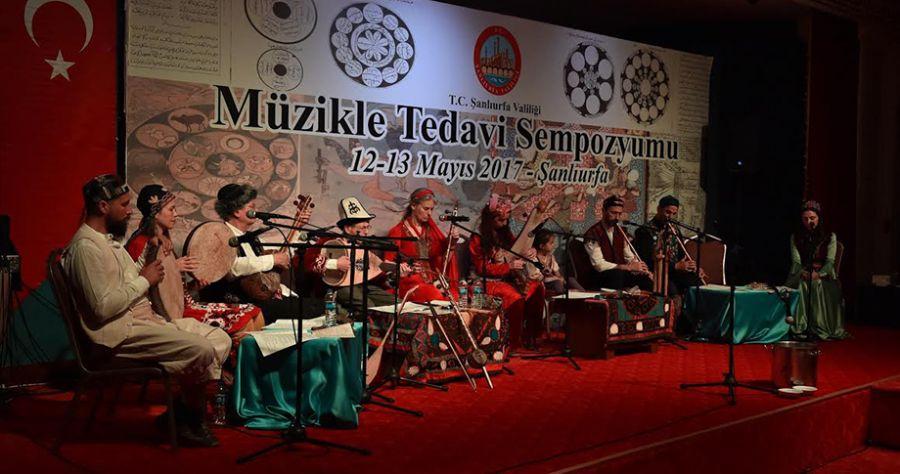 Şanlıurfa'da Müzikle Tedavi Sempozyumu düzenlendi