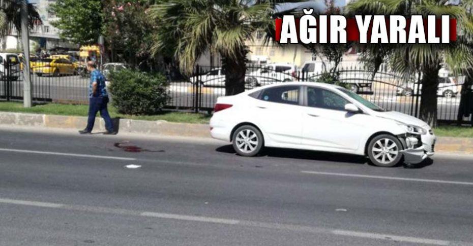 Şanlıurfa'da otomobil yayaya çarptı!