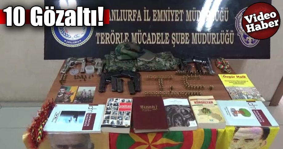 Şanlıurfa'da PKK/KCK operasyonu!