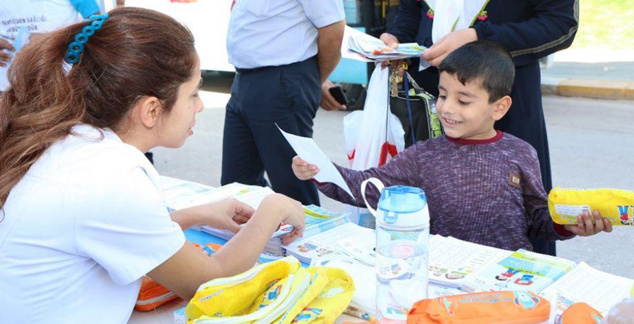 Şanlıurfa'da 'Sağlıkta Halka Farkındalık Yaratma' standı kuruldu