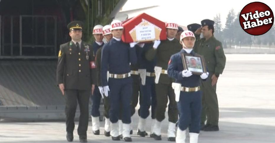 Şanlıurfa'da şehit düşen askerin cenazesi memleketine götürüldü