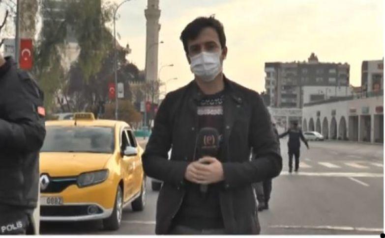 Şanlıurfa'da sessiz yılbaşı (videolu)