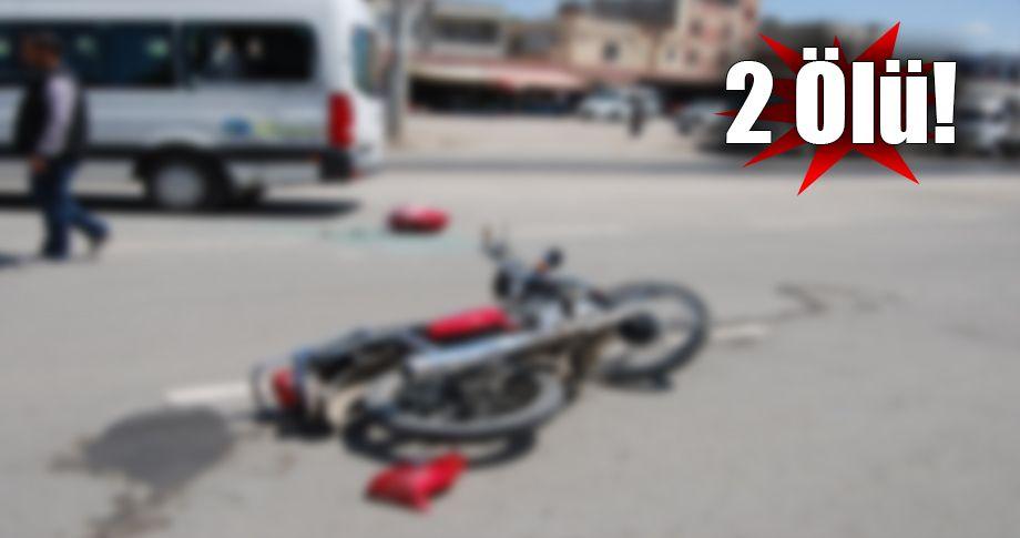 Şanlıurfa'da sevis minibüsü ile motosiklet çarpıştı!