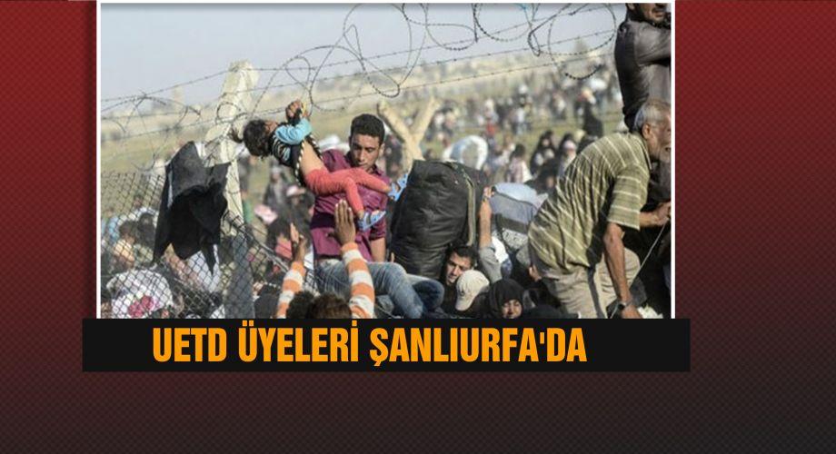 Şanlıurfa'da, sığınmacıların durumu konuşuldu
