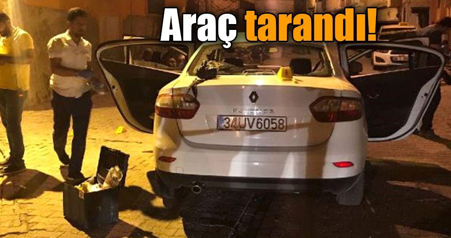 Urfa'da seyir halindeki otomobile silahlı saldırı
