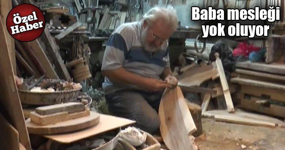 Şanlıurfa'da tahta beşikler zamana direniyor