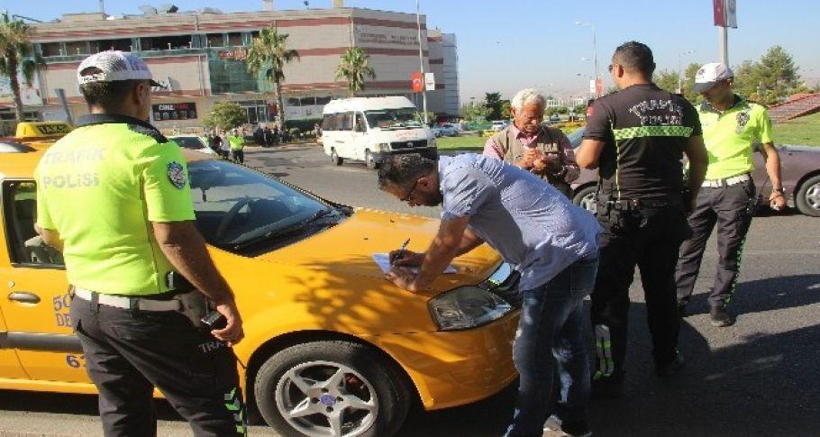 Şanlıurfa'da taksilere ceza yağdı