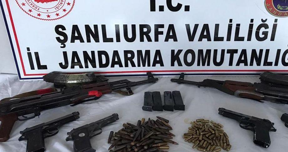 Şanlıurfa'da terör operasyonu:2 gözaltı