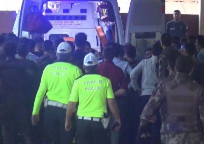 Şanlıurfa'da Teröristlerle Çatışma:1 Şehit,2 Yaralı