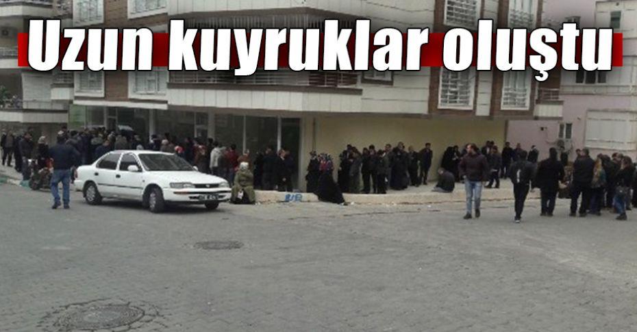 Şanlıurfa'da TOKİ'ye başvuruda son gün yoğunluğu