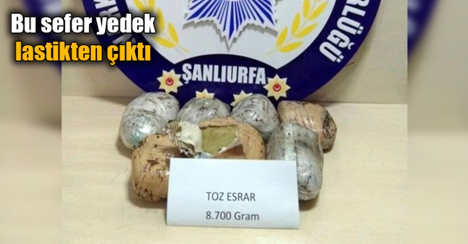 Şanlıurfa'da uyuşturucu satıcıları durmak bilmiyor