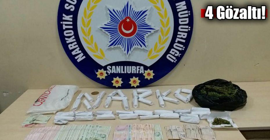 Şanlıurfa'da uyuşturucu satışı fırınlara kadar girdi
