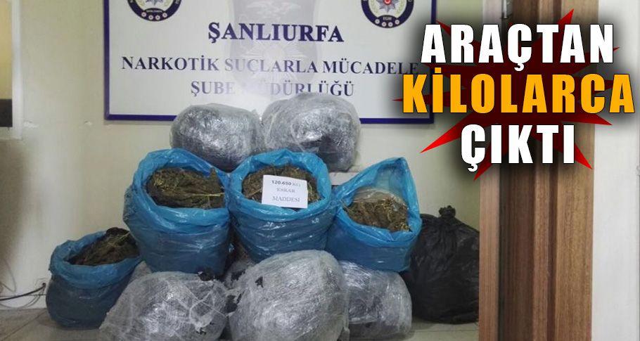 Şanlıurfa'da uyuşturucu tacirleri durmak bilmiyor
