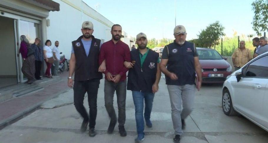 Şanlıurfa'da yakalanmıştı... Tutuklandı