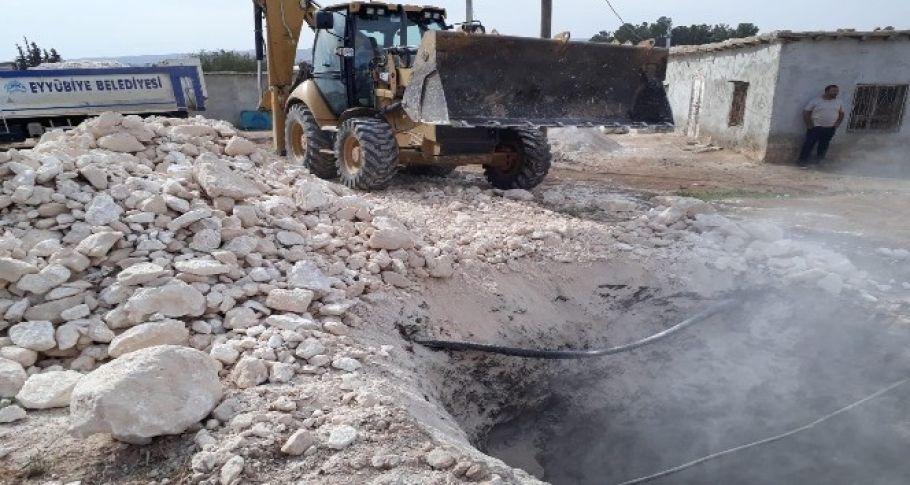 Şanlıurfa'daki esrarengiz obruk kapatıldı