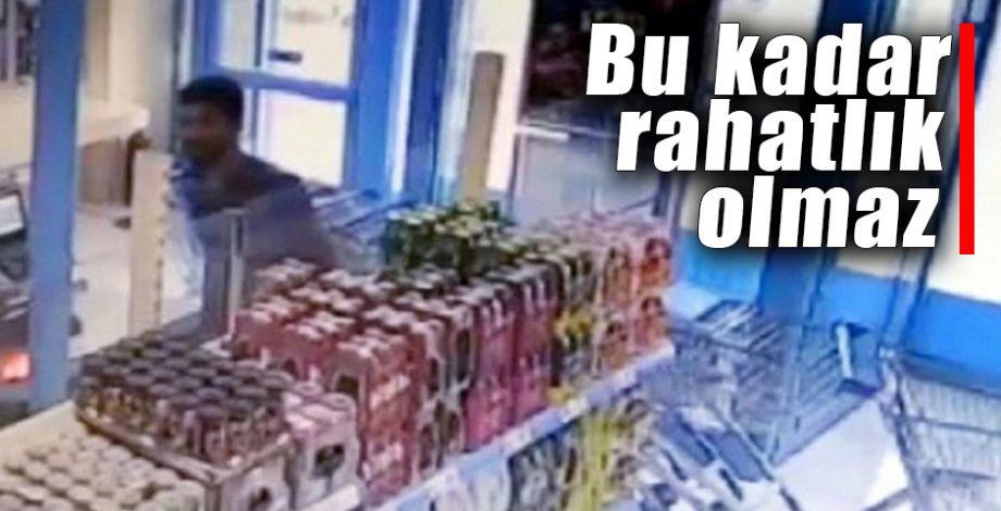 Şanlıurfa'daki hırsızlık anı pes dedirtti!