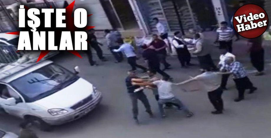 Şanlıurfa'daki silahlı kavganın görüntüleri ortaya çıktı!