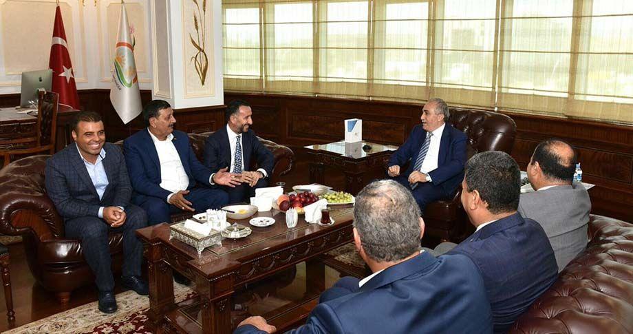 Şanlıurfa'dan Bakan Fakıbaba'ya ziyaret
