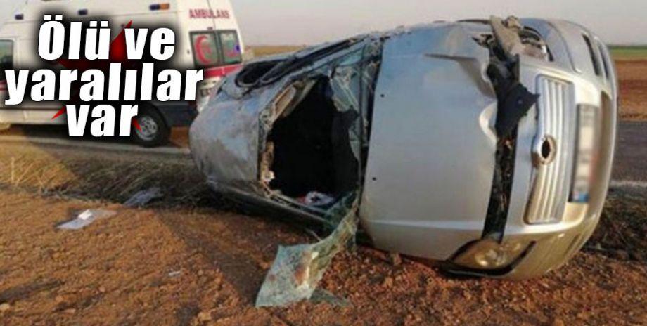 Şanlıurfa'dan Mardin'e düğün için giden aile kaza yaptı