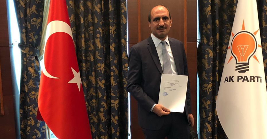 Şanlıurfalı İş adamı Mehmet Günak, aday adayı oldu