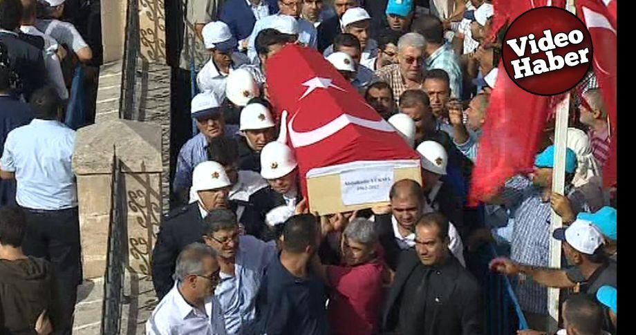 Şanlıurfalı Vekil Abdulkadir Yüksel son yolculuğuna uğurlanıyor