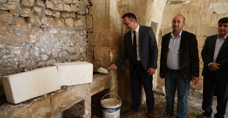 Şanlıurfa'nın tarihi kuyulu evi restore ediliyor