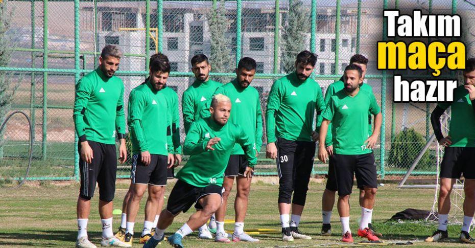 Şanlıurfaspor, Bugsaşspor maçına kilitlendi