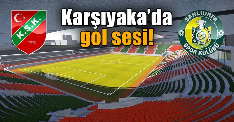 Şanlıurfaspor Karşıyaka karşılaşmasında ikinci yarı oynanıyor