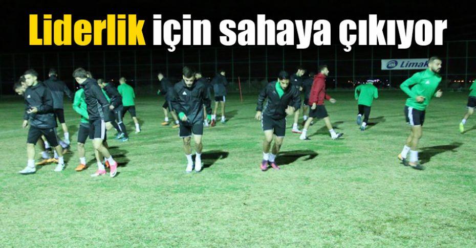 Şanlıurfaspor'da Bugsaşspor maçı hazırlıkları başladı