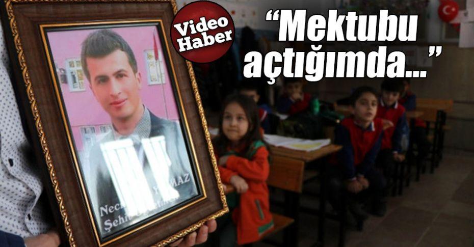 Şehit Öğretmen Yılmaz'ın babasından duygulandıran mektup
