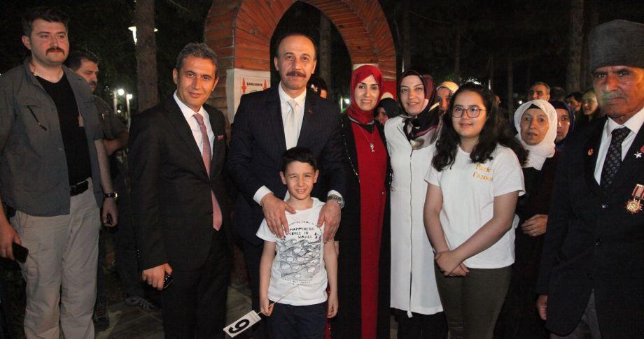 Şehit ve Gazi Aileleri İftar Programında Buluştu (videolu)