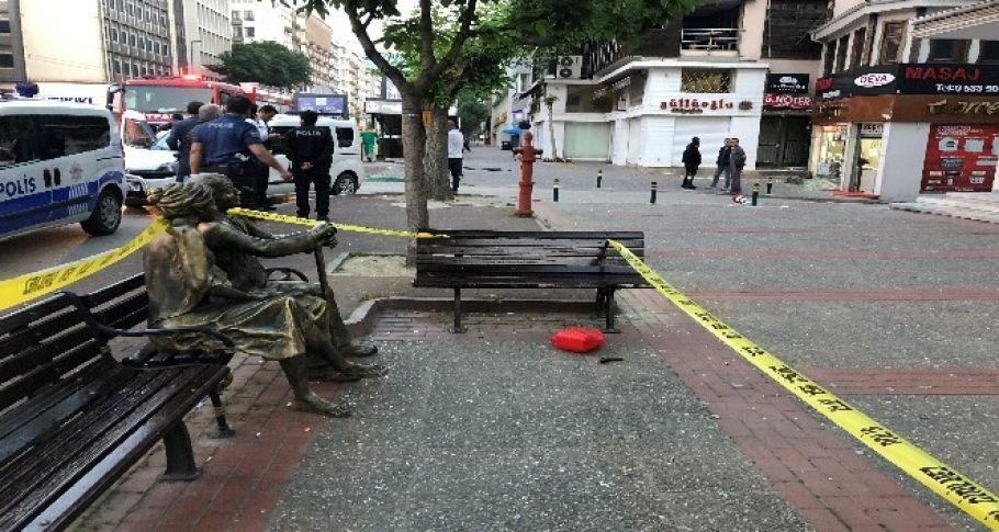 Şehrin göbeğinde kundaklama iddiası