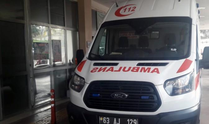 Seyrantepe yolunda kaza: 2 yaralı