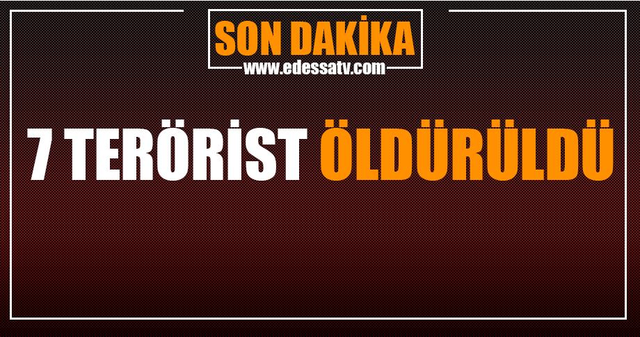 Şırnak ve Mardin'de teröristler etkisiz hale getirildi