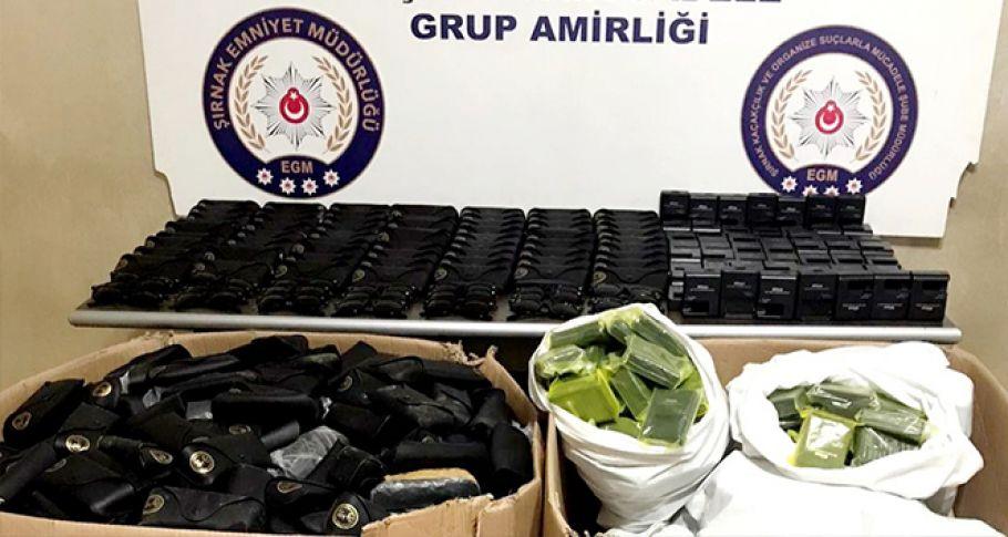 Şırnak'ta terörle mücadele ve kaçakçılık operasyonları: 40 gözaltı