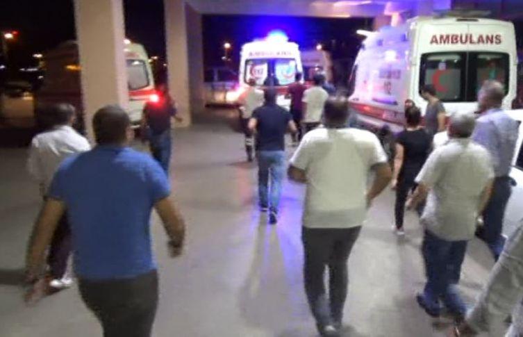Siverek-Diyarbakır Yolunda Kaza ! 7 Yaralı