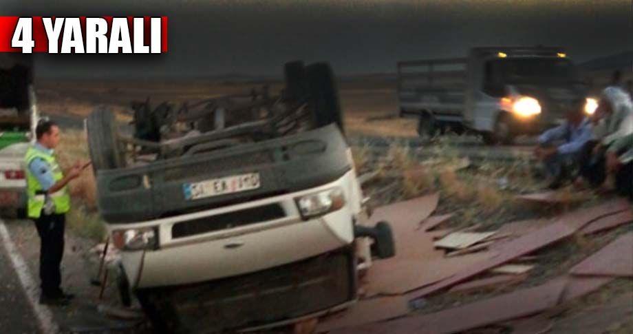 Siverek - Diyarbakır yolunda kaza!