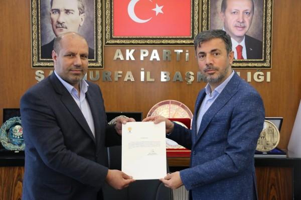 Siverek'te AK Parti'nin yönetimi belli oldu