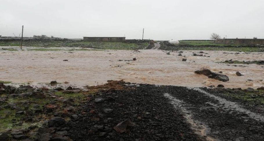 Siverek'te Aşırı Yağışlar Hayatı Olumsuz Etkilemeye Devam Ediyor
