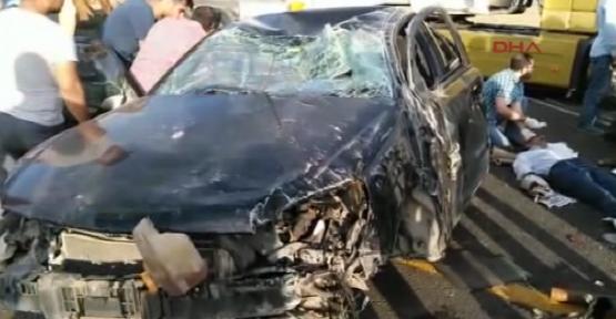Siverek'te feci kaza:1 ölü,3 yaralı