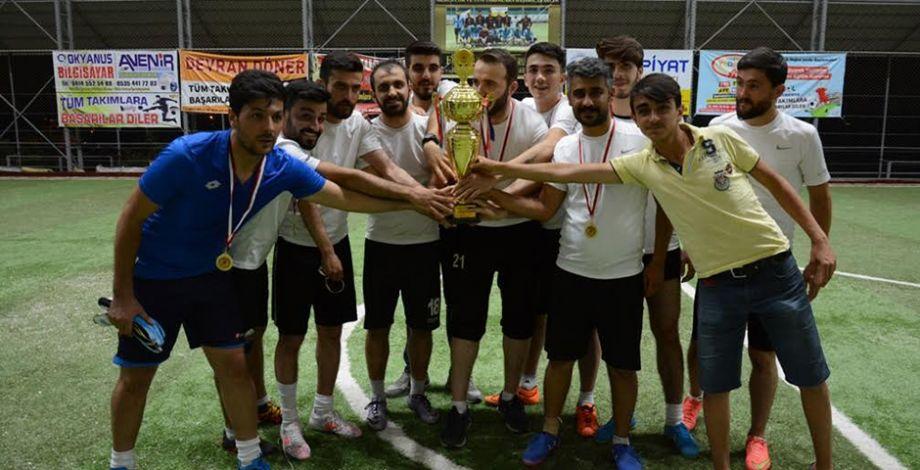 Siverek'te geleneksel futbol turnuvası sona erdi