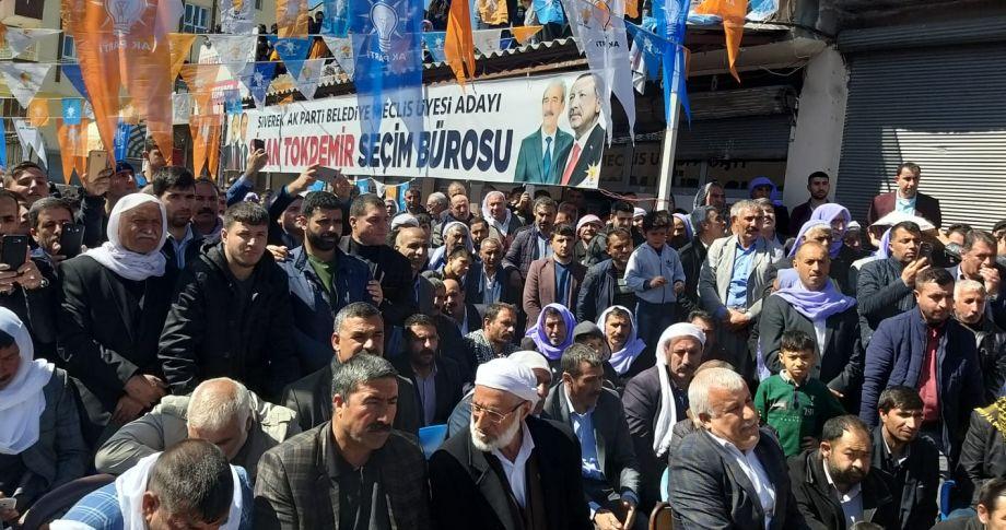 Siverek'te Gülpınar'la Beyazgül'ün Katılımlarıyla Seçim Bürosu Açılışı(Videolu)