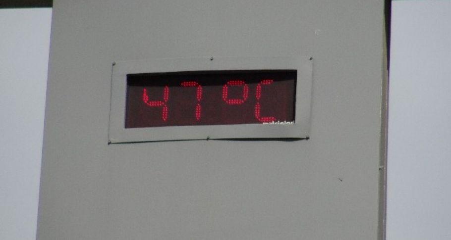 Siverek'te sıcaklıklar 47 dereceye ulaştı