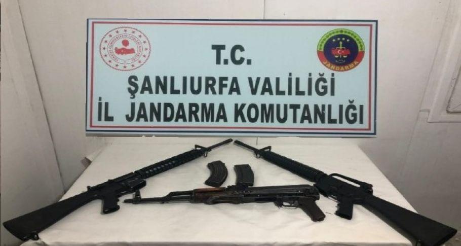 Siverek'te silah kaçakçılığı operasyonu