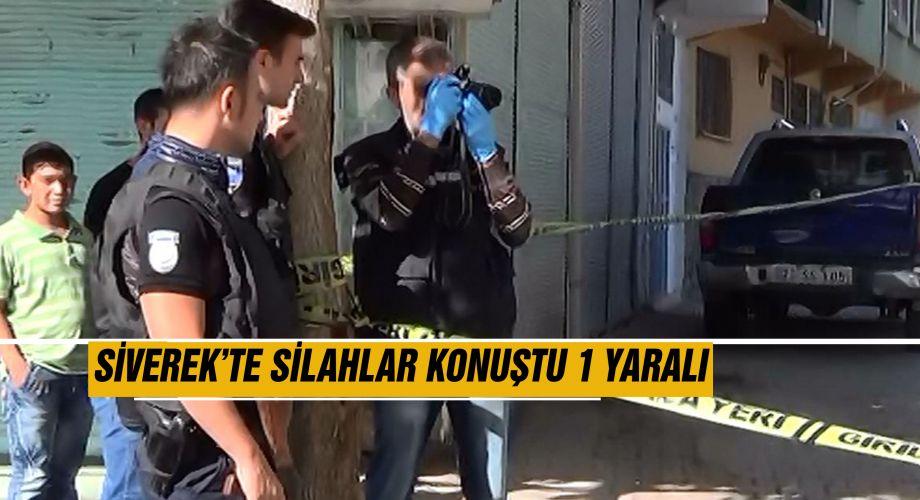 Siverek'te silahlı saldırı 1 kişi yaralandı
