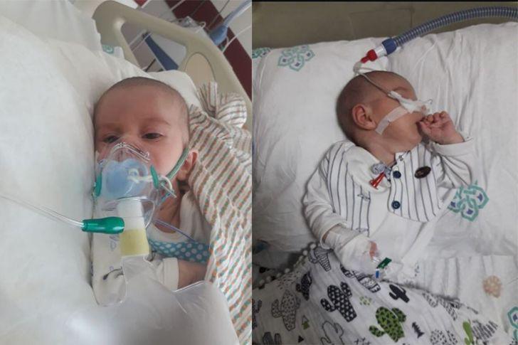 SMA hastası Ali bebek için ailesi destek bekliyor (Videolu)