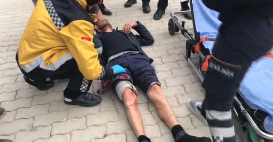 Sokak ortasında bacaklarından vuruldu!