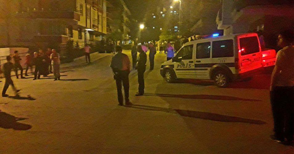 Sokak ortasında pompalı tüfekle ateş açıldı