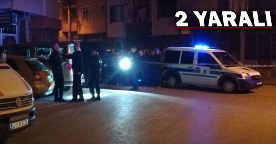 Sokak ortasında silahlı çatışma!
